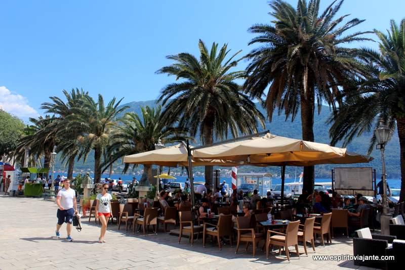 Main Square Perast Kotor Montenegro