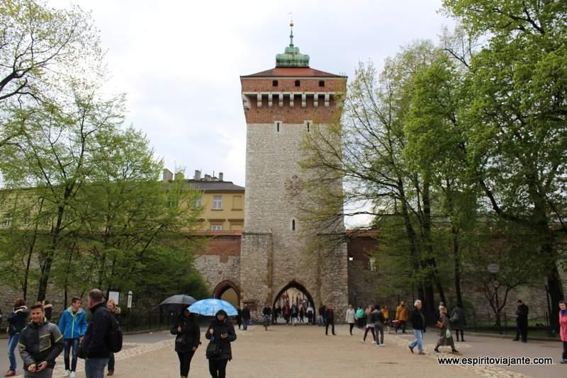 Porta de S. Floriano Cracovia Brama Floriańska