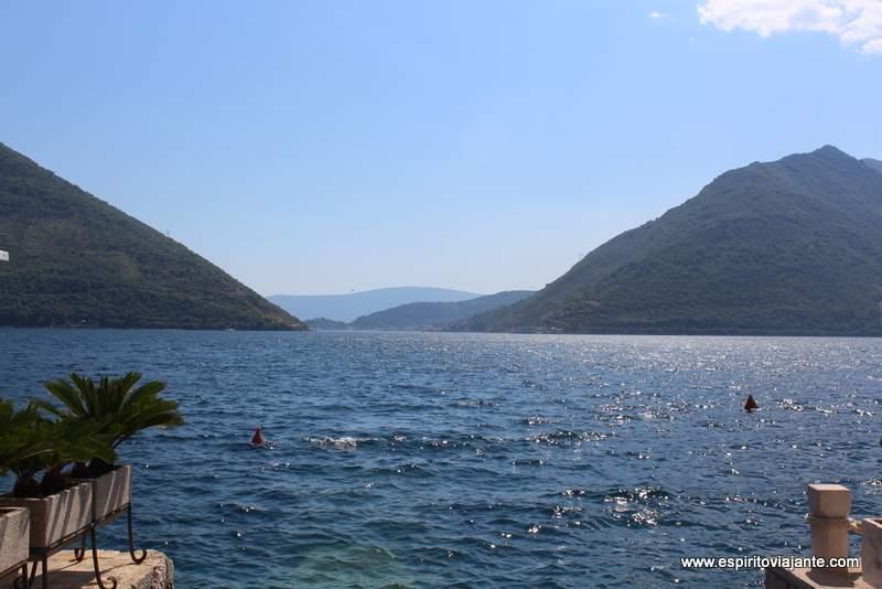 estreito de Verige Baía de Kotor Montenegro