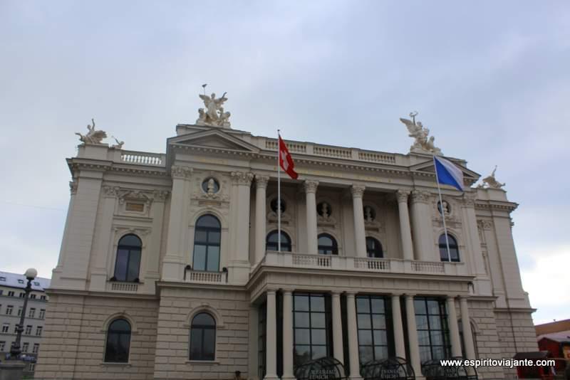 Opera House Zurich Zurique Visitar Suiça