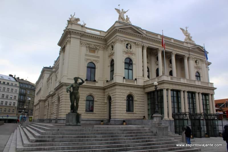 Opera House Zurich Zurique - Visitar Zurique
