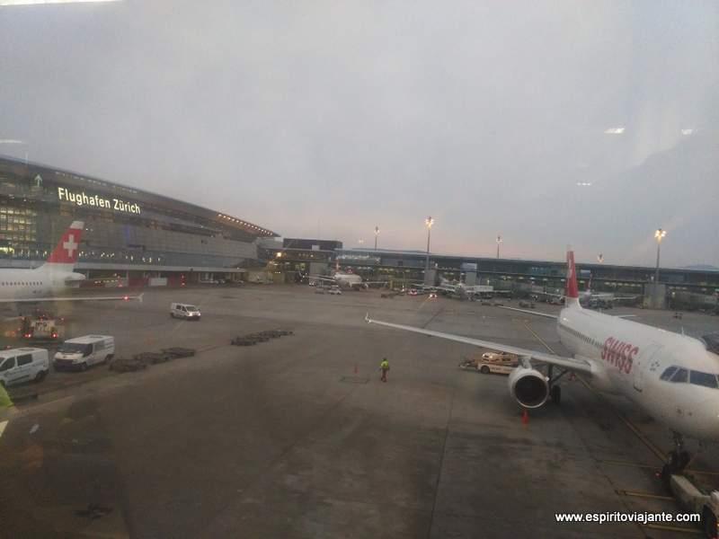 Zurich Airport Aeroporto de Zurique Suiça