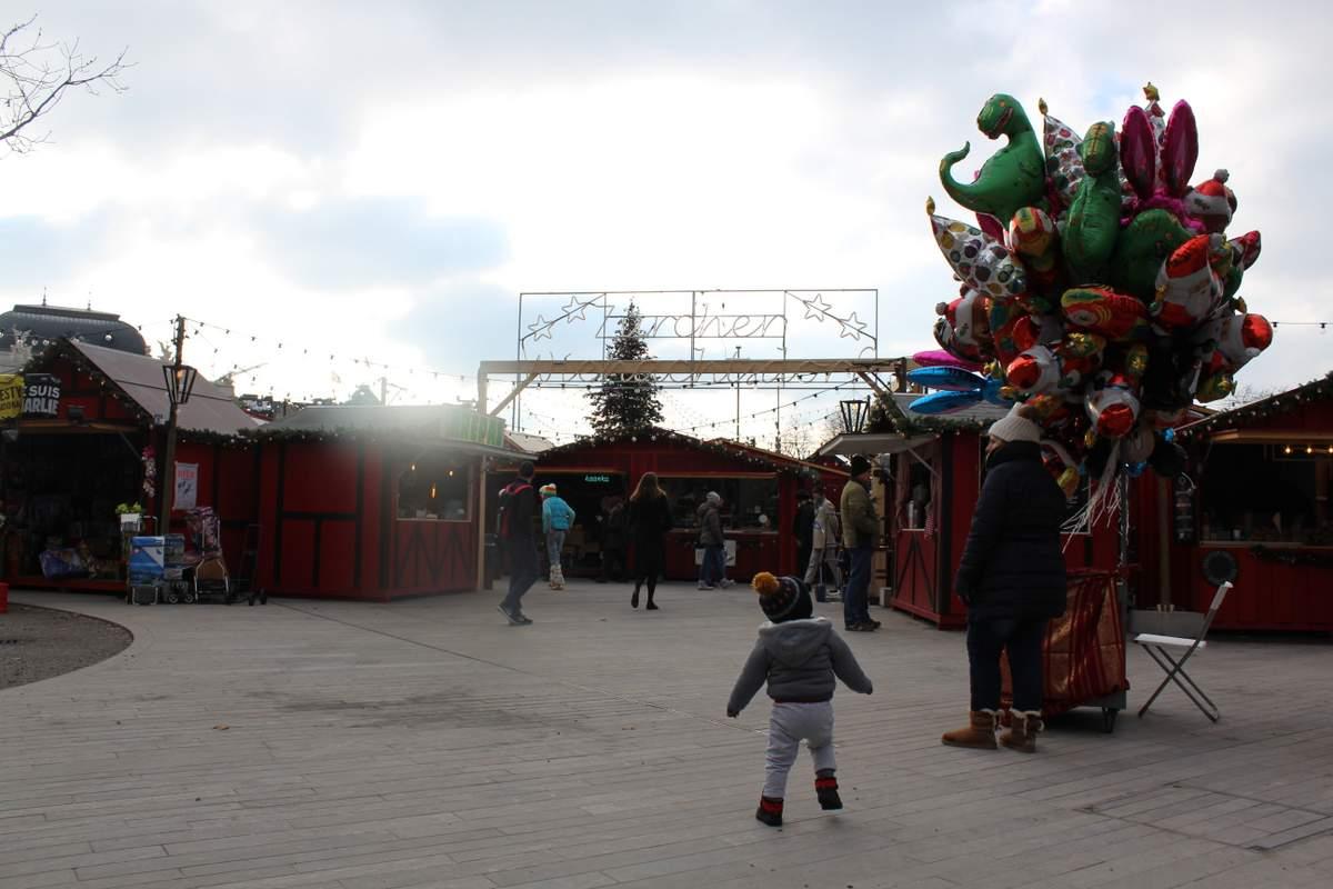 Mercados de Natal na Suiça Zurique