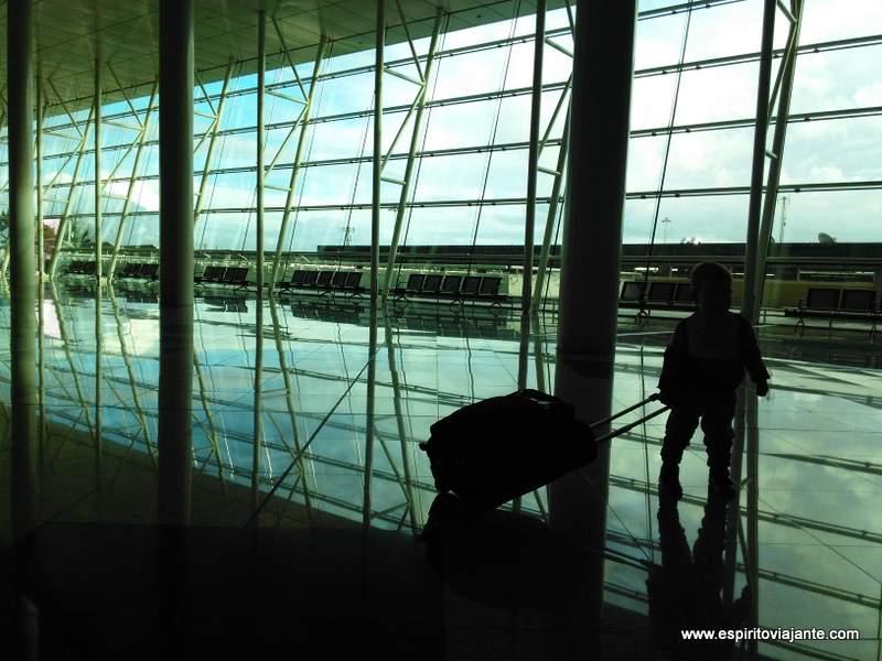 Viajar com crianças Aeroporto