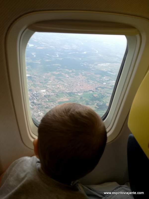 Flight babies viajar com bebés