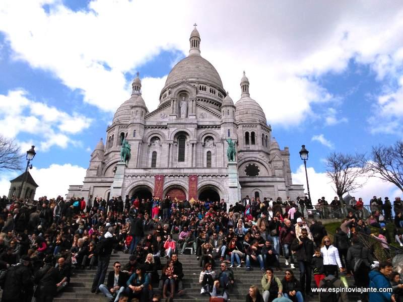 Basilique Sacré Cœur Montmartre Paris