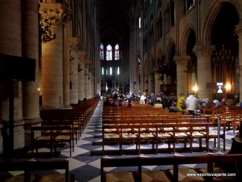 Catedral de Notre Dame Paris França