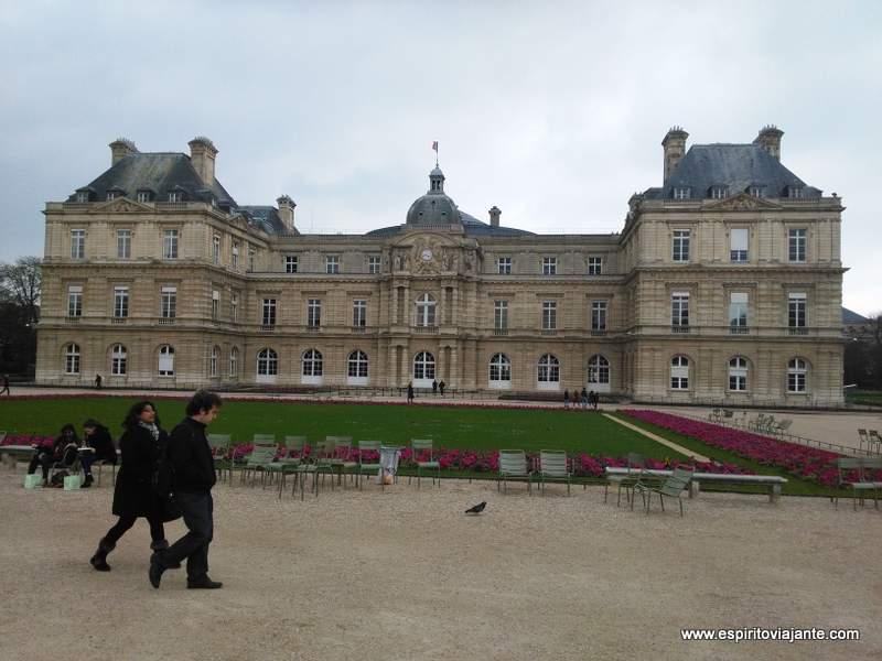 Palacio e Jardins do Luxemburgo Paris