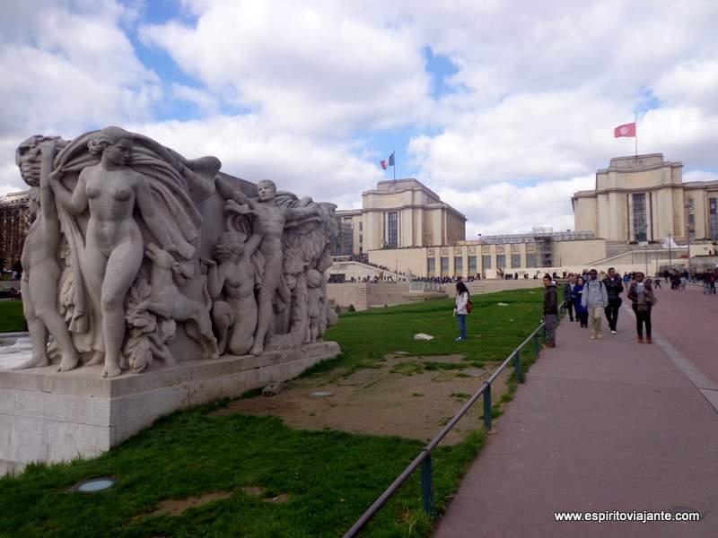 Parque Trocadero Paris