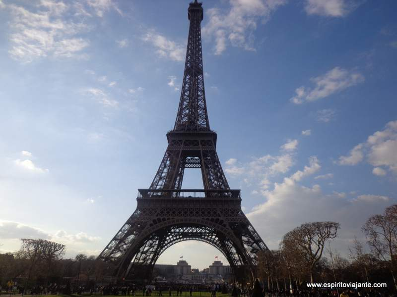 Torre Eiffel Ticket
