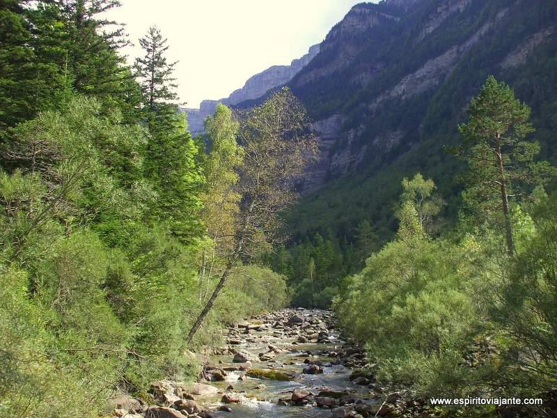 Rio Arazas Ordesa Pirineus