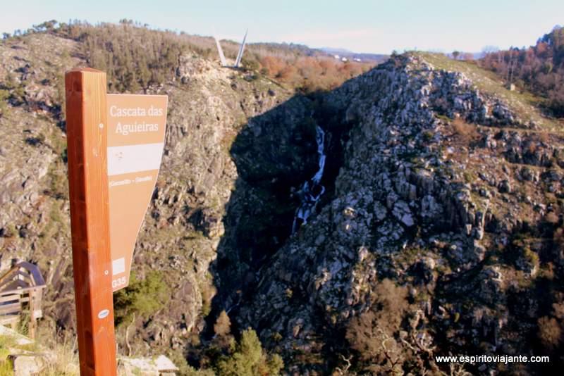 Cascata das Aguieiras Garganta do Paiva