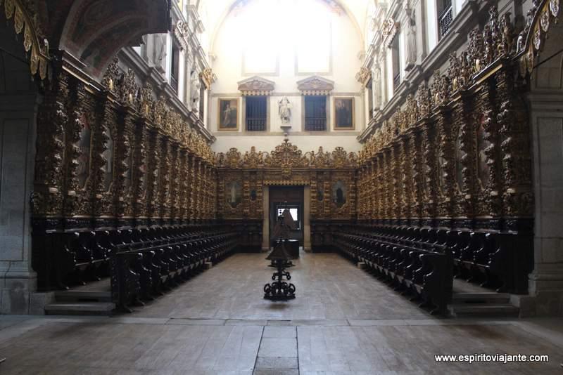 Coro das Freiras Mosteiro de Arouca