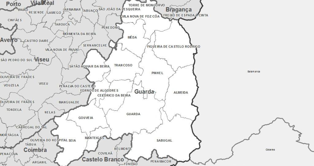 Mapas-de-Portugal-Distrito-de-Guarda