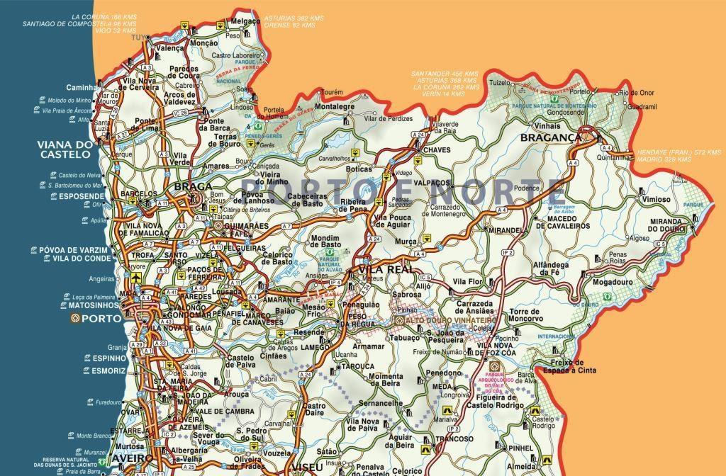 Mapa do Porto eNorte