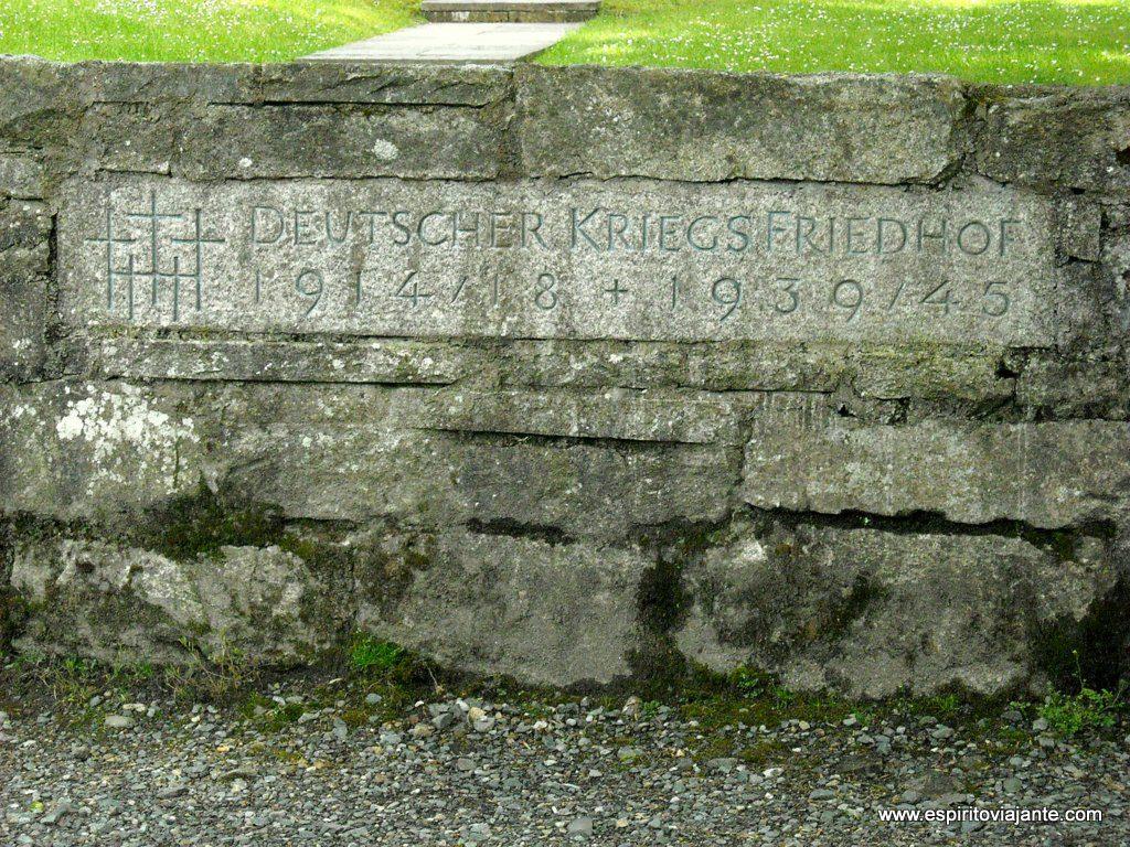 Cemitério alemão de Glencree - Visitar as Montanhas de Wicklow