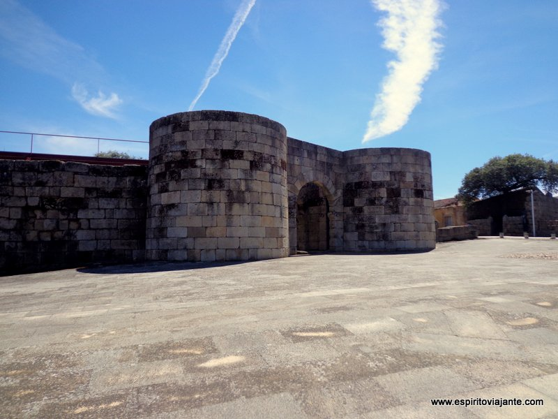 Muralhas romanas da Porta Norte - Aldeia Histórica de Idanha a Velha