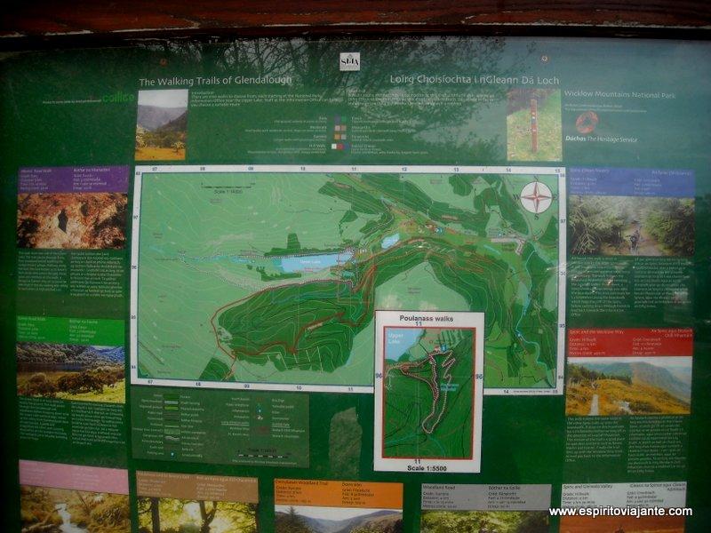Glendalough Trilhos Trekking