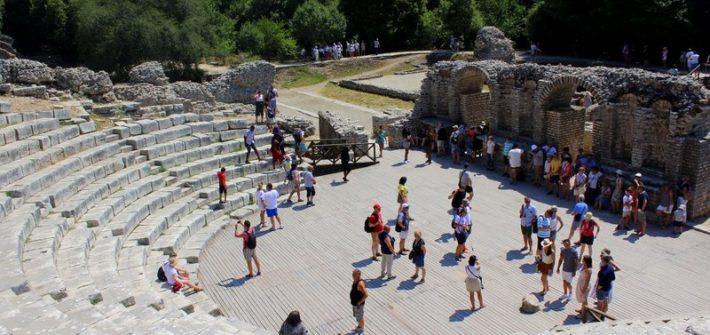 Teatro romano Butrint Unesco