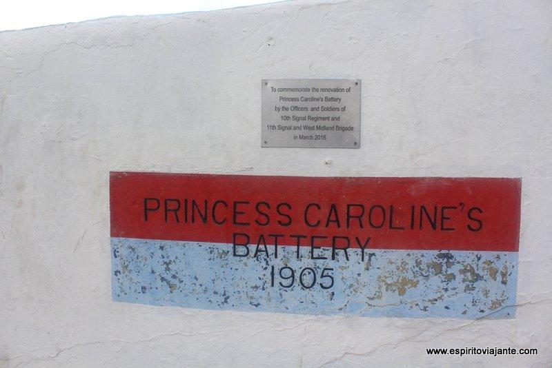 Bateria da Princesa Carolina