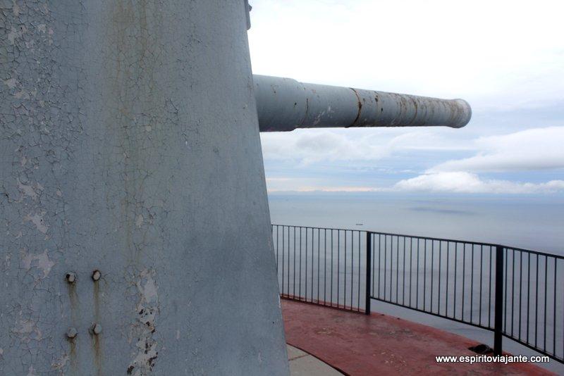 Canhão Bateria Gibraltar