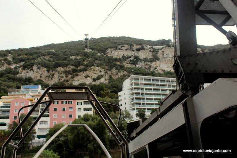 Cable Car Gibraltar Base