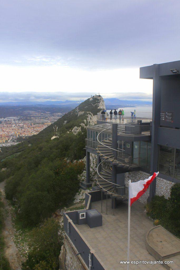 Gibraltar Top Station