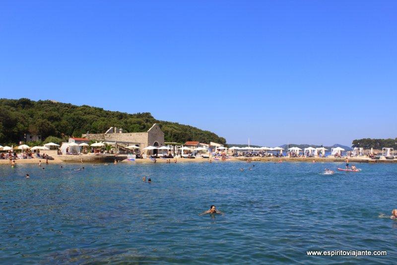 Praia Copacabana Croácia