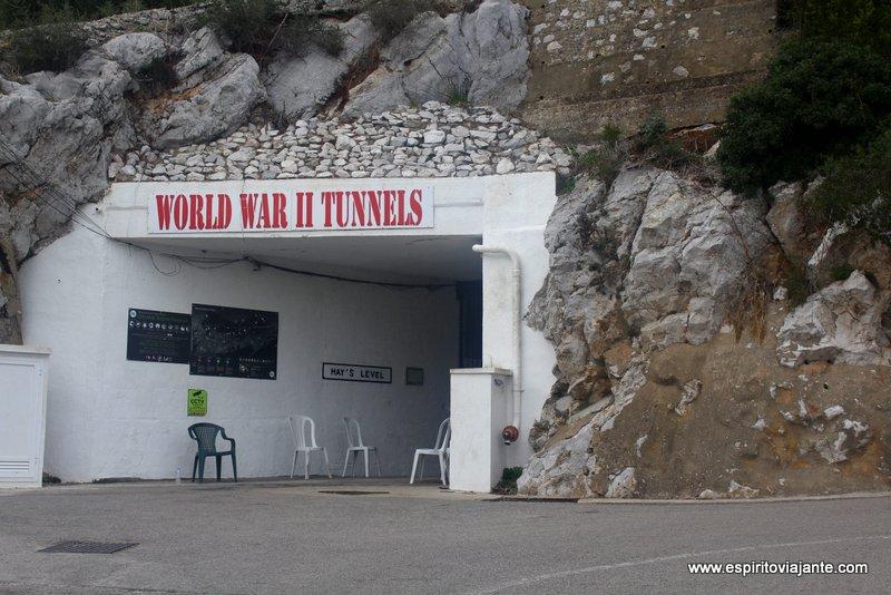 Túneis da 2ª Guerra Mundial