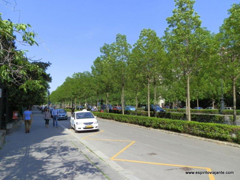 Avenida Andrássy Budapeste