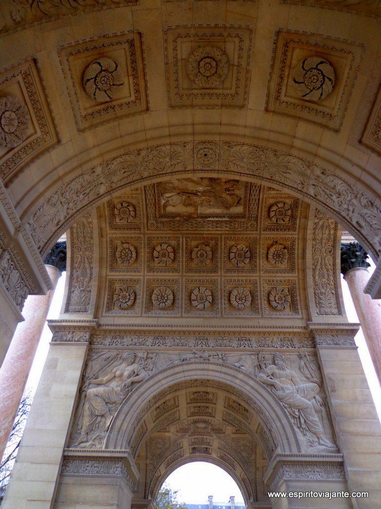 Arco do Triunfo do Carrossel - Jardim das Tulherias