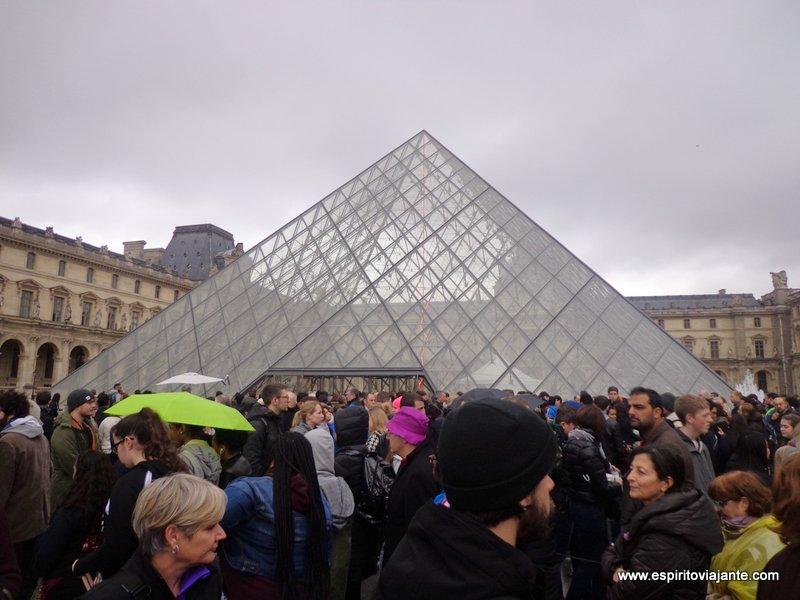 Museu do Louvre Pirâmide