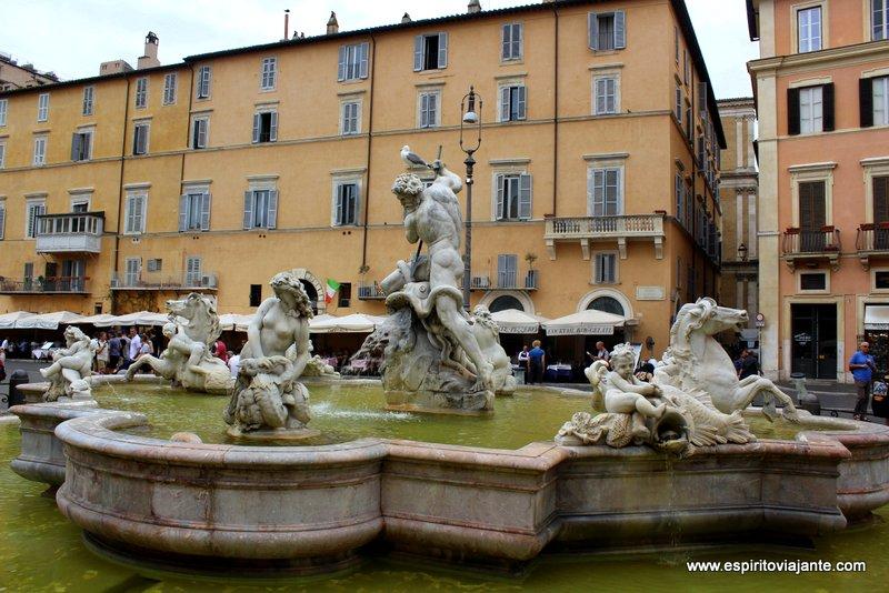 Fontana del Nettuno Piazza Navona