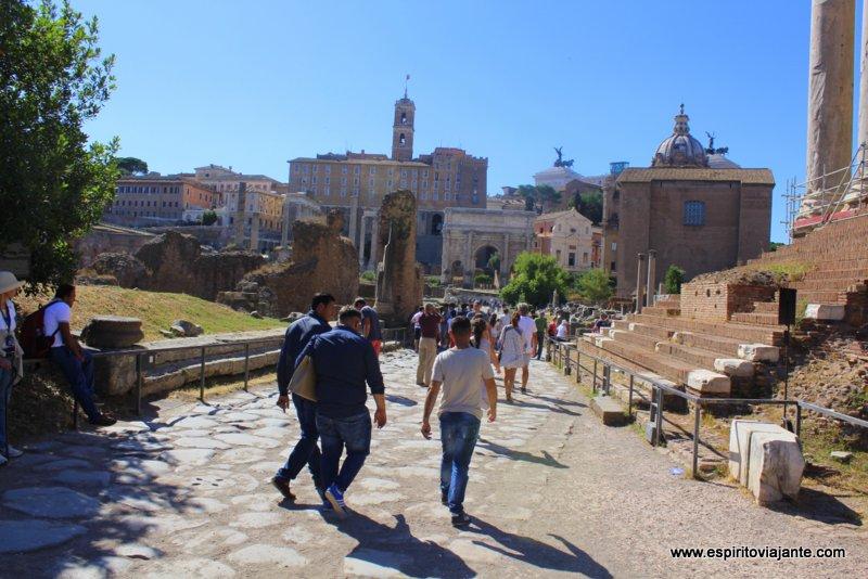 Forum Romano Visitar Roma