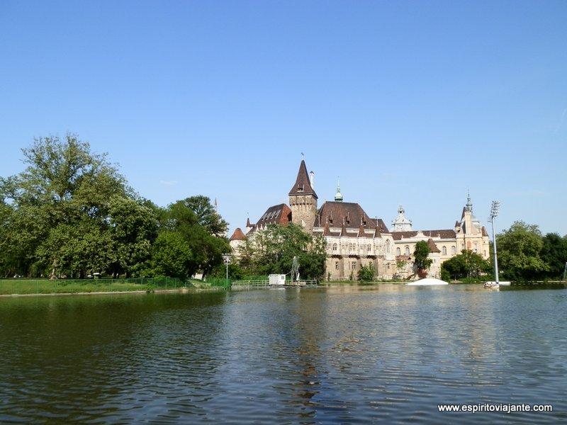 Parque da cidade de Budapeste
