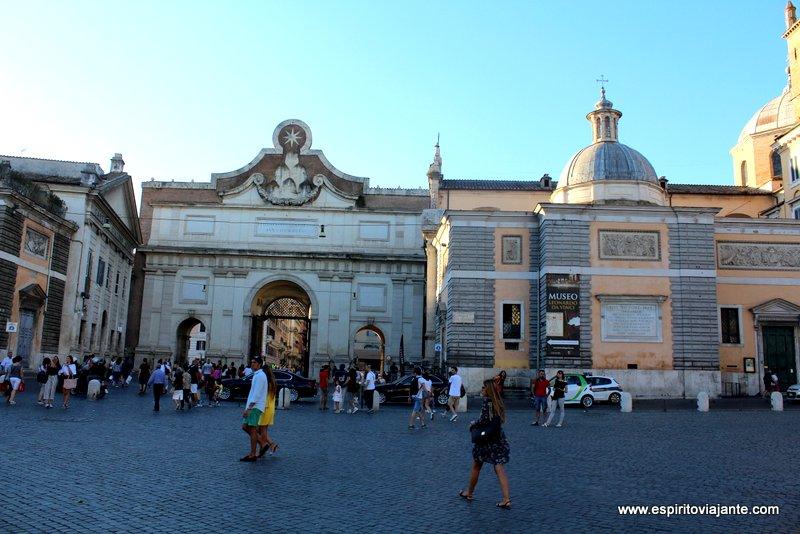 Piazza del Popolo - Praça do Povo