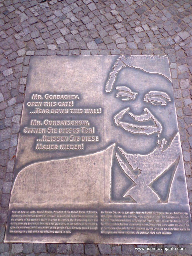 Ronald Reagan Muro de Berlim