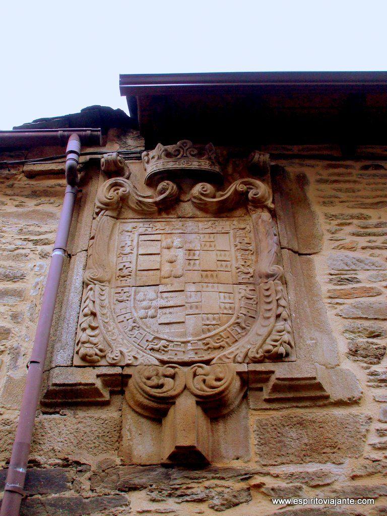 Centro histórico de Puebla de Sanabria - casa brasonada